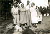 George Swain, Angie Swain Fender, Dred Swain, and Nancy Swain Nix<br /> Photo courtesy of Frances Gray Plair