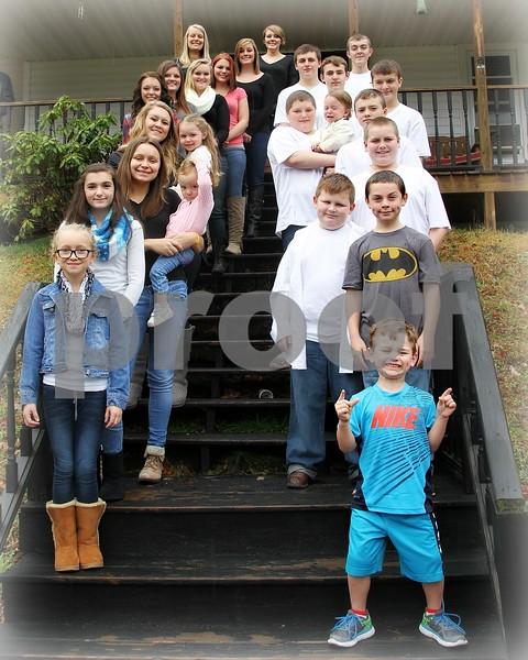 Setzer Family - 2015