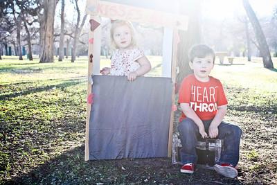 Children : Charlie & Ben