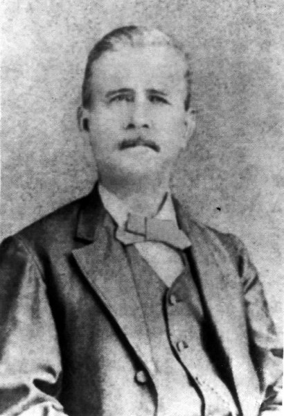 Dr. James W. Talley, photo about 1856