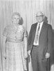Mr and Mrs Frank Taylor standing - JC