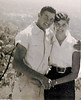 "Alfred ""Bud"" Tucker and his wife Betty Whitley Tucker.  Married September 1, 1954. Photo taken the following day. Enigma, Berrien, Georgia"