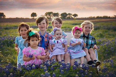 The Minix Family Bluebonnet Session