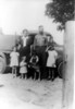 Partial family of Drew and Eva Vickers, taken about 1942.<br /> Front row, left to right: Naomi, Magaliene, Harvey, Geneve<br /> Back row, left to right: Eva and Drew Vickers.<br /> Photo courtesy of Naomi Vickers Lloyd