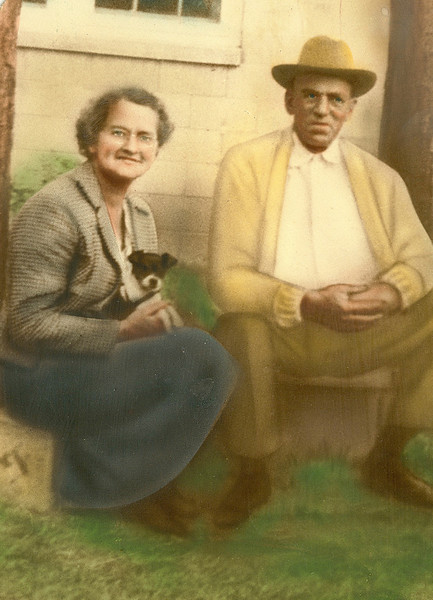 John Ellis and Onnie Moore Zeigler (Courtesy of Betty (Hunter) Zeigler)