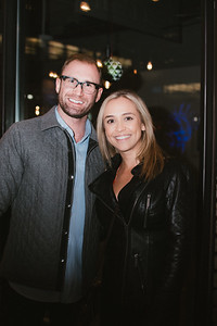 Jason and Catie Juhl of West Des Moines, enjoy New Year's Eve at Proof on December 31, 2017