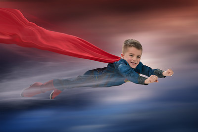 Superman Flying copy