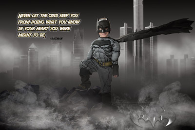 You were mwant to be - Batman copy