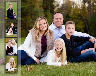 Skapyak Family Collage 16x20