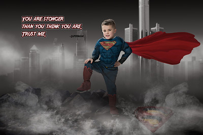 Stonger than you think - Superman copy