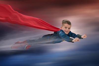 Superman Flying copy