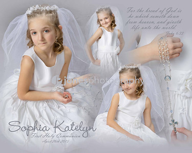 Sophia First Communion
