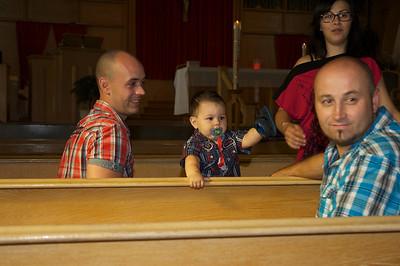 Baptême d'Alexis 31 août 2013