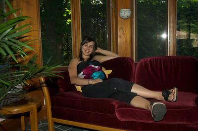 Sabrina enceinte 7 mois chez Michelle & Paul