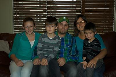 Famille Berthiame et enfants 2012