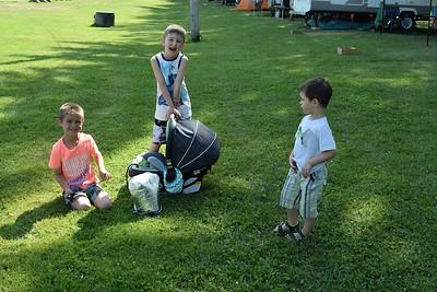 Fête d'Olivier (7 ans) 25 juin 2016, Camping Laliberté