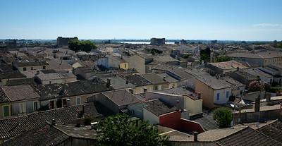 Les toits d'Aigues-Mortes