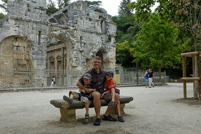 Aux jardins de Nîmes