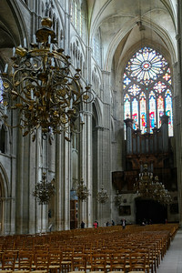 L'orgue de la cathédrale de Bourges