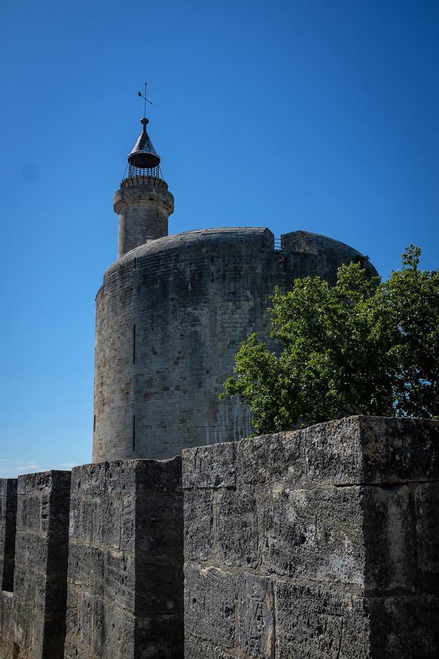 La tour de Constance à Aigues-Mortes