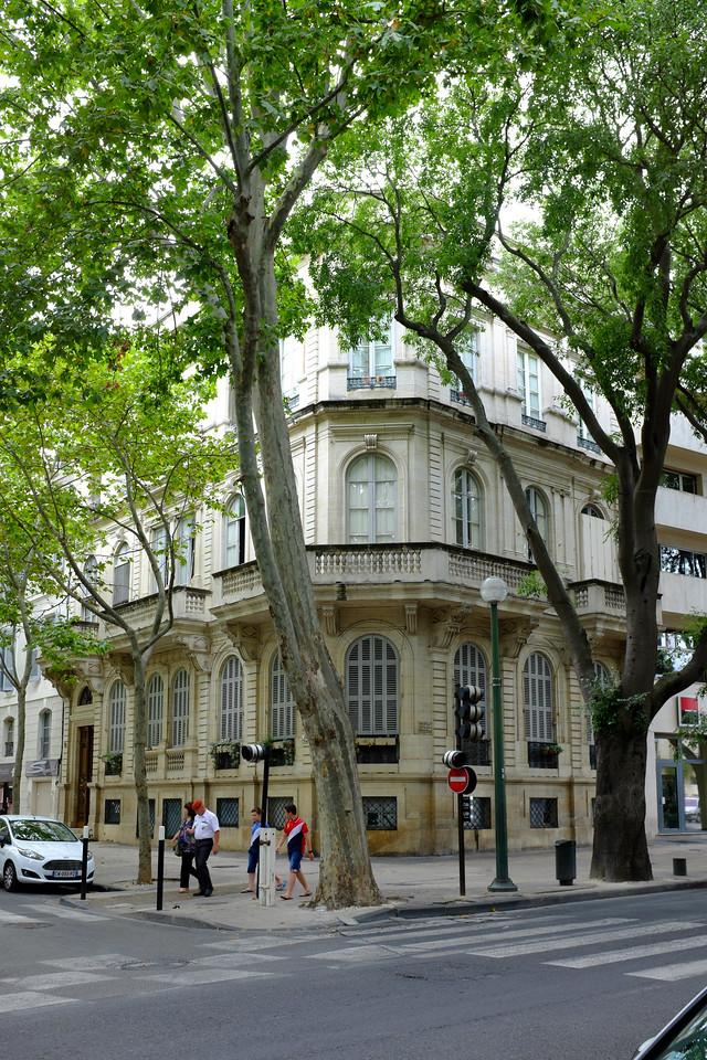 Boulevard Gambetta à Nîmes