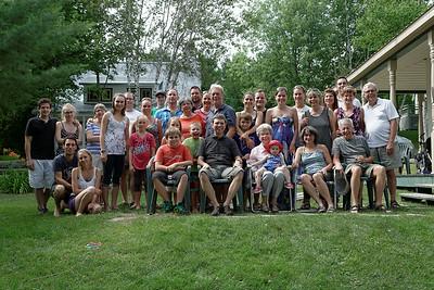 Fête de famille Laroche 2014