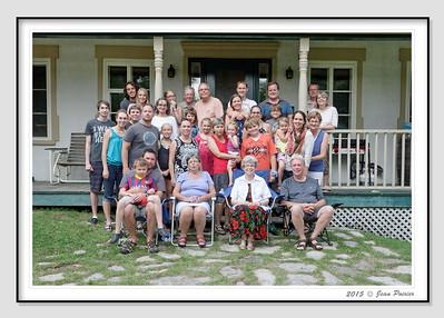 Fête de famille Laroche 2015