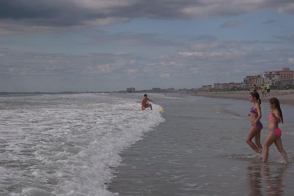 Premiers jours de plage