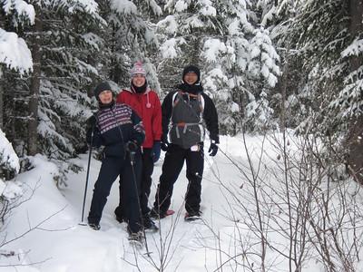 Raquette camp Mercier