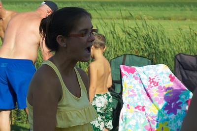 Épluchette de blé d'inde, Famille Bertiaume 2012