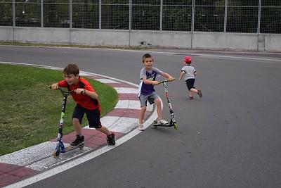 Circuit Gilles Villeneuve les Boys (et Lise) juillet 2016