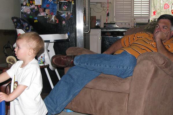 Watching TV !!!