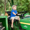 Driving PaPa's tractor