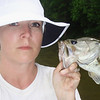 My serious fish catching look.