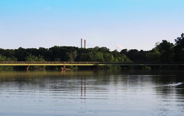 Bridge @ the Juliette Dam