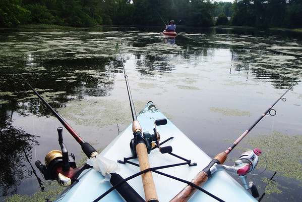Kayak cam.....the pond was really creepy, not like it was 20 years ago.