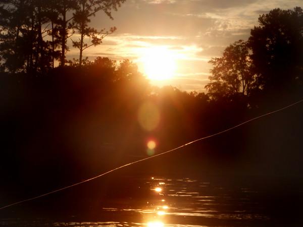 Sunset was nice.