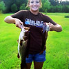 Mobile upload - A couple of Paige's fish she caught.