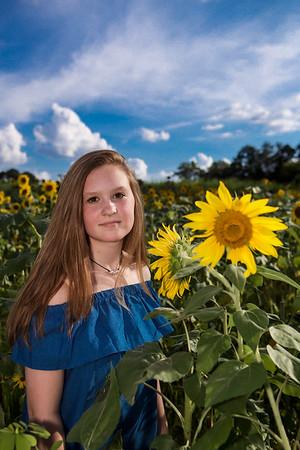 Brieana's Sunflower shoot '18