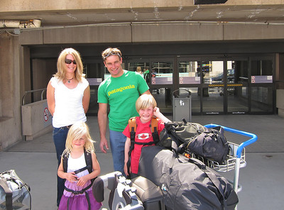 July 23rd-Calgary Airport, leaving to Europe for 11 weeks, what an adventure!