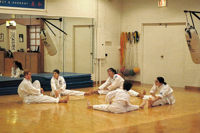 Zoe's Black Belt Karate Test - October, 2006