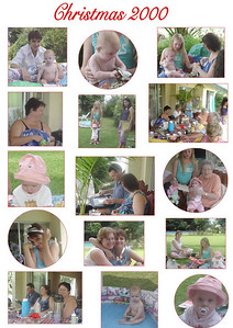 Crimbo 2000  A Montage of pictures mum took during Christmas 2000