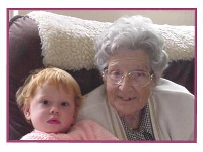 Sami and Granny  Sami and Randburg Granny. 2 and 82.