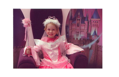 Princess Sami  Sami got to dress up as a princess at Northgate and get her picture taken.