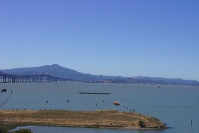 2015 August - McCarthy Bridge to San Francisco