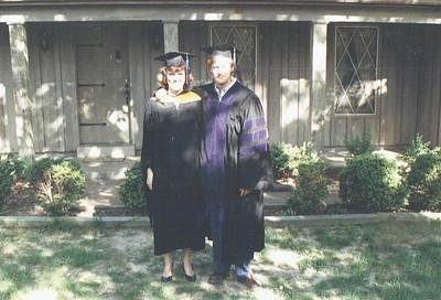 Graduation from MSU May 1988