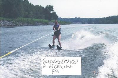 Sunday School Skiing 2001