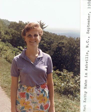 Trip to Asheville w Kathy Hahn - Fall 1986