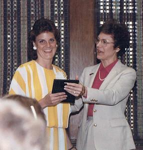 Beth UT Graduation June 1986