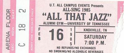 KKG All Sing Feb 1985
